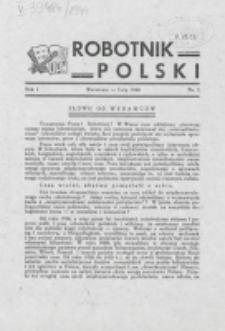 Robotnik Polski. R. 1, nr 1 (1944)