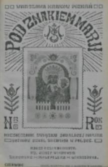 Pod Znakiem Marji. R. 5, nr 9 (1925)
