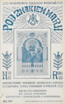 Pod Znakiem Marji. R. 6, nr 8 (1926)