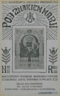 Pod Znakiem Marji. R. 7, nr 1 (1926)