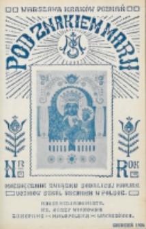 Pod Znakiem Marji. R. 7, nr 3 (1926)