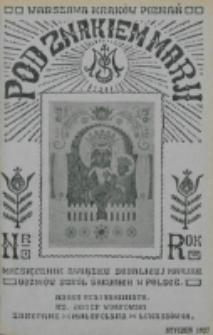 Pod Znakiem Marji. R. 7, nr 4 (1927)