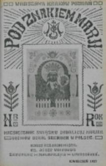 Pod Znakiem Marji. R. 7, nr 7 (1927)