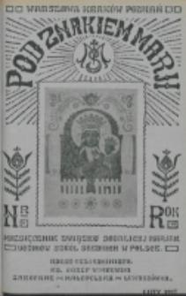 Pod Znakiem Marji. R. 7, nr 5 (1927)