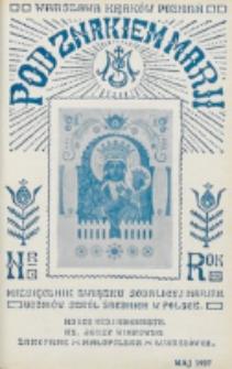 Pod Znakiem Marji. R. 7, nr 8 (1927)