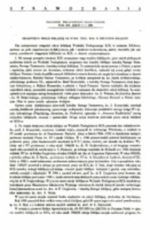 Osiągnięcia Sekcji Biblijnej na Wydz. Teol. KULw ostatnim XX-leciu.