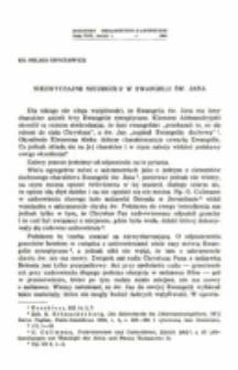 Niezwyczajne szczegóły w Ewangelii św. Jana.