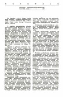 Recenzja : Ks. Stanisław Łach , Księga Wyjścia, wstęp, przekład z oryginału, komentarz opracował ... Poznań, Pallottinum 1964, s. 372 + 4 mapki (Pismo Święte Starego Testamentu KUL, t. 1, cz. 2.).
