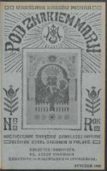 Pod Znakiem Marji. R. 8, nr 4 (1928)