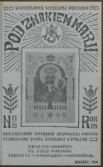 Pod Znakiem Marji. R. 8, nr 6 (1928)