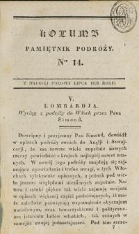 Kolumb. T. 3, nr 14 (1828)