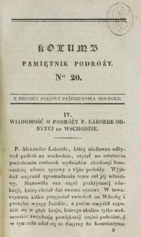 Kolumb. T. 4, nr 20 (1828)