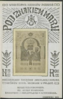 Pod Znakiem Marji. R. 11, nr 9 (1931)