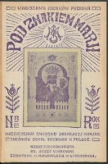 Pod Znakiem Marji. R. 12, nr 1 =100 (1931)