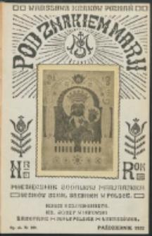 Pod Znakiem Marji. R. 13, nr 1 = 109 (1932)