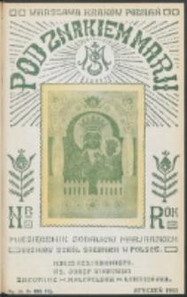 Pod Znakiem Marji. R. 13, nr 4 = 112 (1933)
