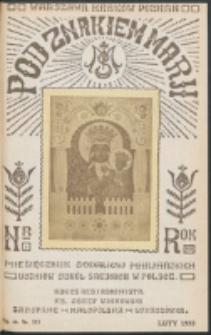 Pod Znakiem Marji. R. 13, nr 5 = 113 (1933)
