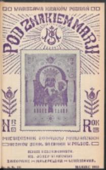 Pod Znakiem Marji. R. 13, nr 6 = 114 (1933)