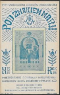 Pod Znakiem Marji. R. 13, nr 8 = 116 (1933)