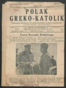 Polak Greko - Katolik. R. 5, nr 14/15 (1938)