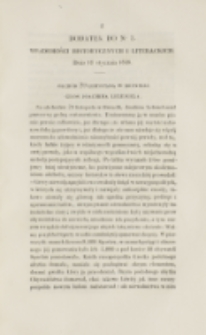 Młoda Polska. Dodatek do No 2 (1838)