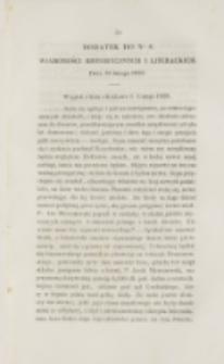 Młoda Polska. Dodatek do No 6 (1838)