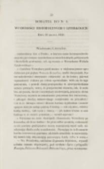 Młoda Polska. Dodatek do No 8 (1838)