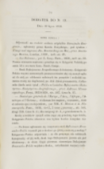 Młoda Polska. Dodatek do No 19 (1838)