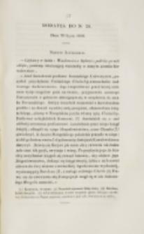 Młoda Polska. Dodatek do No 20 (1838)