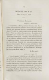 Młoda Polska. Dodatek do No 24 (1838)