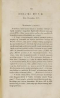 Młoda Polska. Dodatek do No 35 (1838)