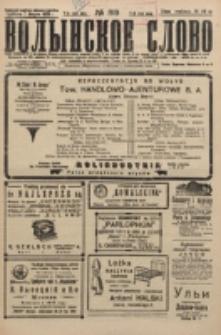 Volynskoe Slovo. G. 5, nr 819 (1925)