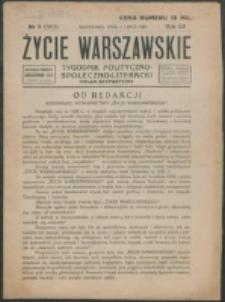 Życie Warszawskie. R. 7, nr 1 = 353 (1921)