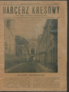 Harcerz Kresowy. R. 1, nr 5 (1920)