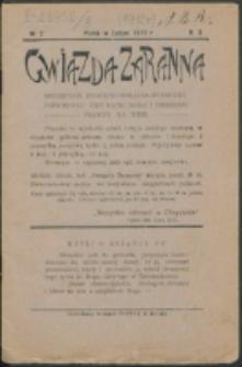 Gwiazda Zaranna. R. 3, nr 2 (1912)