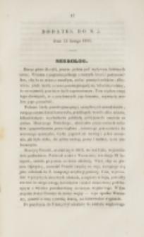 Młoda Polska. Dodatek do No 5 (1839)