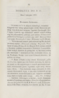 Młoda Polska. Dodatek do No 22 (1839)