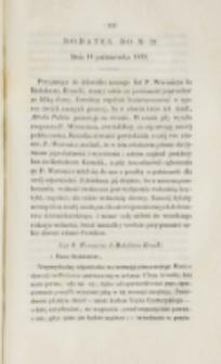 Młoda Polska. Dodatek do No 29 (1839)