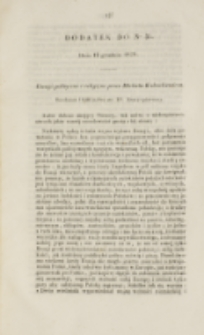 Młoda Polska. Dodatek do No 35 (1839)