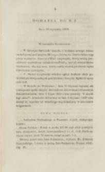 Młoda Polska. Dodatek do No 3 (1840)