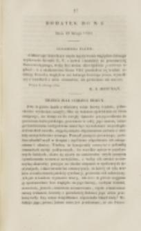 Młoda Polska. Dodatek do No 5 (1840)