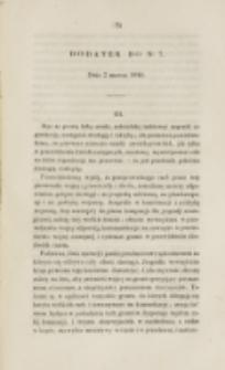 Młoda Polska. Dodatek do No 7 (1840)
