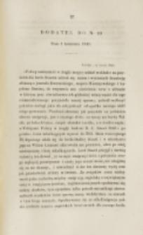 Młoda Polska. Dodatek do No 10 (1840)