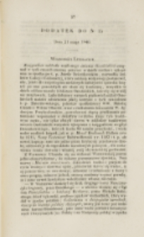 Młoda Polska. Dodatek do No 15 (1840)