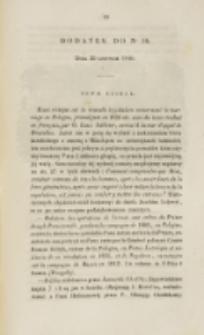 Młoda Polska. Dodatek do No 18 (1840)