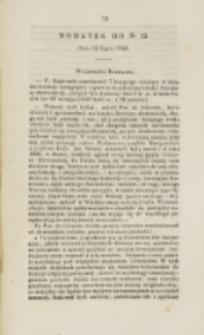 Młoda Polska. Dodatek do No 19 (1840)