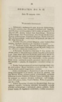 Młoda Polska. Dodatek do No 23 (1840)