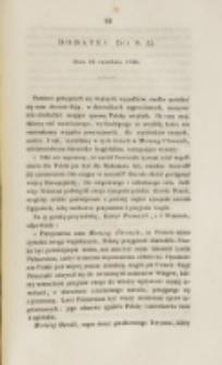 Młoda Polska. Dodatek do no 25 (1840)