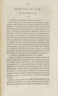 Młoda Polska. Dodatek do No 26 (1840)
