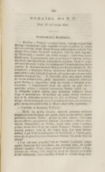 Młoda Polska. Dodatek do No 27 (1840)
